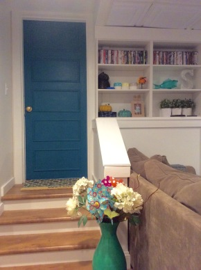 Updating a Flat Panel Door for Under $20