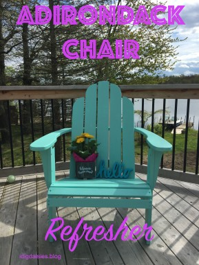 Adirondack Chair Refresher